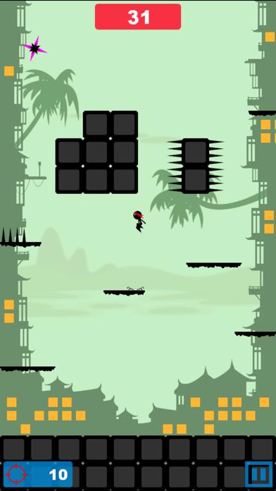 Angry Ninja - Ninja Jump screenshot two