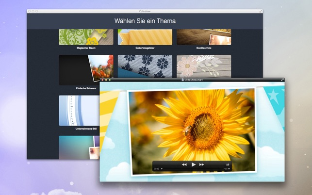 Video slideshow - Cofeshow WM Screenshot
