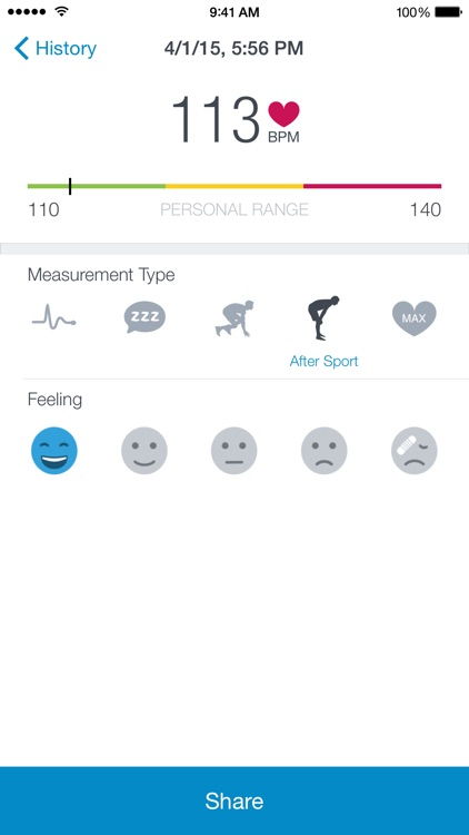 Runtastic Heart Rate PRO screenshot-2
