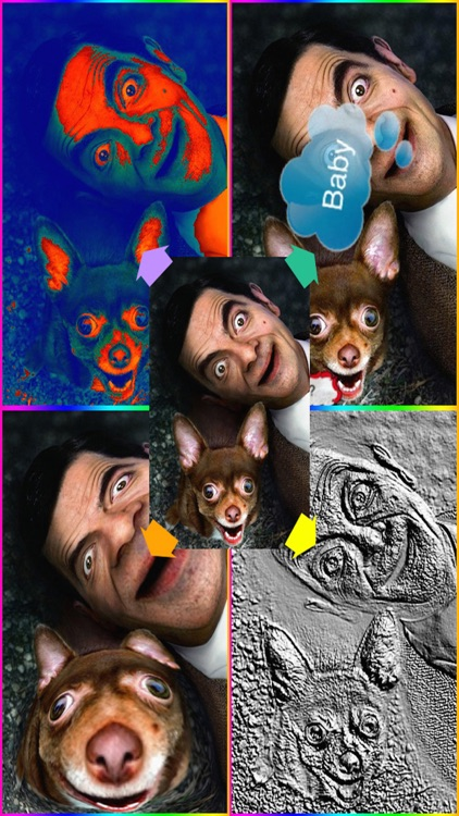 Funny picture - photo editor + photo booth effects + color text