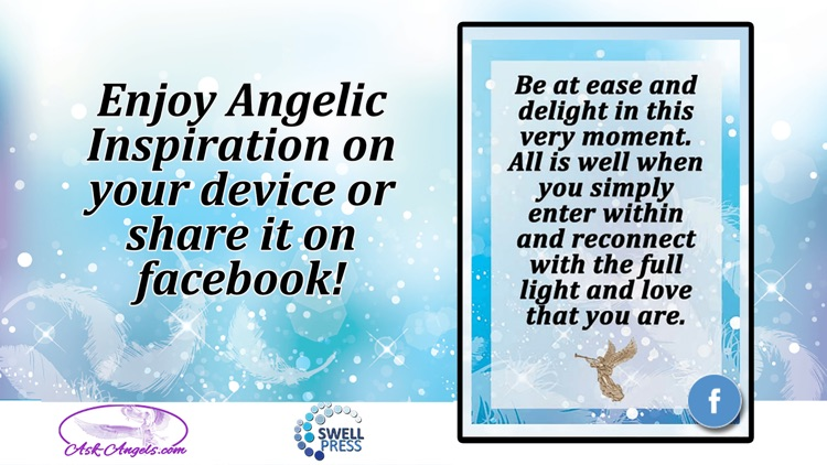 Angelic Inspiration Cards screenshot-4