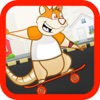 Rat on Skateboard jump Games - 经典儿童游戏