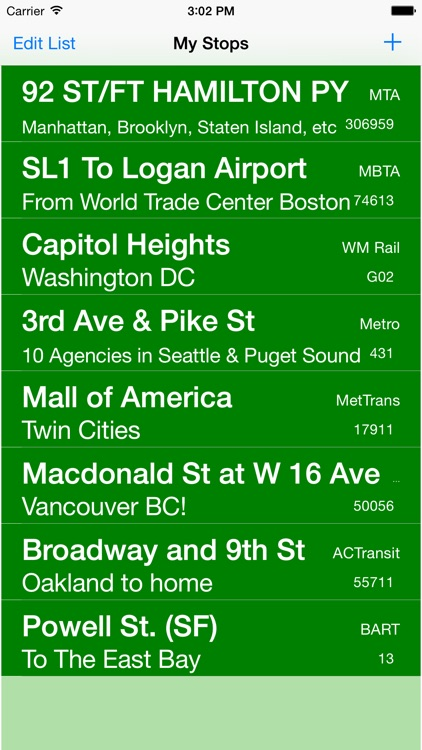 My Bus Times screenshot-0
