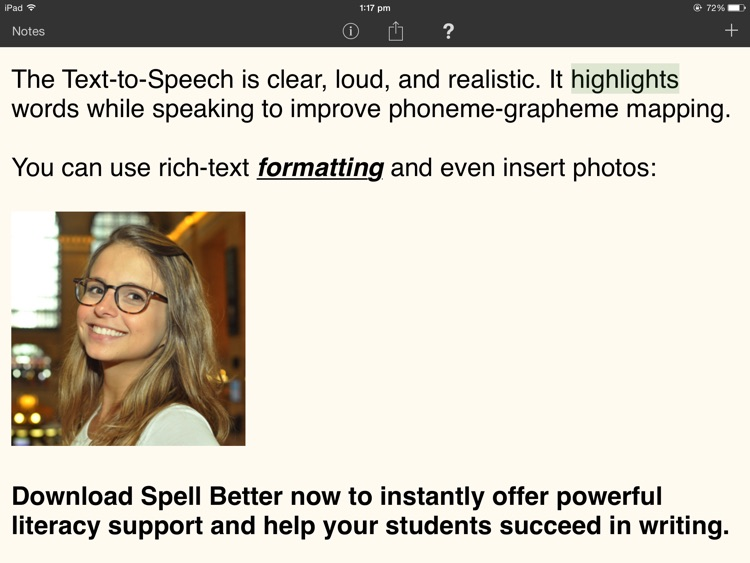 Spell Better - Literacy Support for Dyslexia, Dysgraphia, and Low Vision screenshot-4