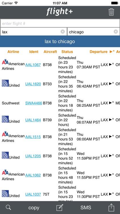 flight+: Flight Tracking & Information