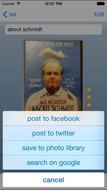 my-Movies screenshot-3