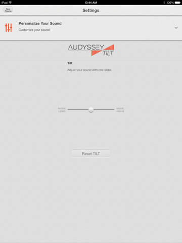 Audyssey Music Player-ipad-4