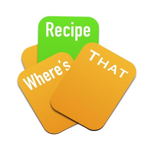 Where's That Recipe