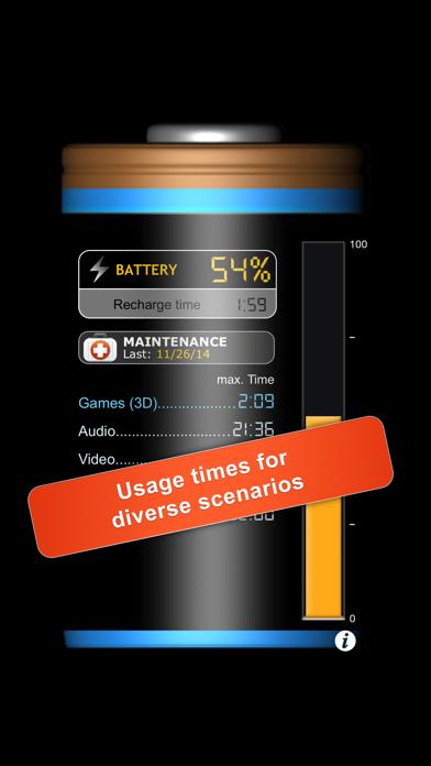 iBattery Pro - Battery status and maintenanceのおすすめ画像2