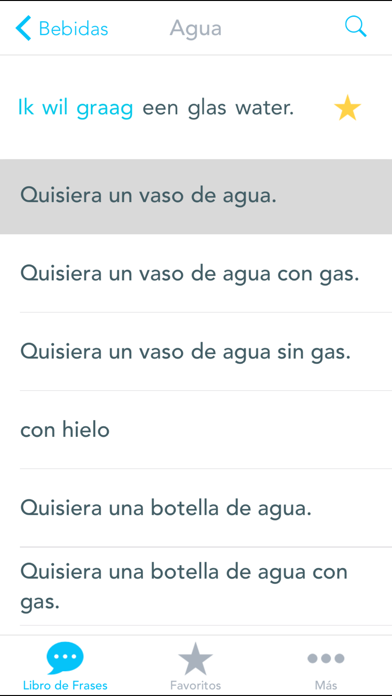 Free Spanish to Dutch Phrasebook with Voice: Translate, Speak & Learn Common Travel Phrases & Words by Odyssey Translator screenshot four
