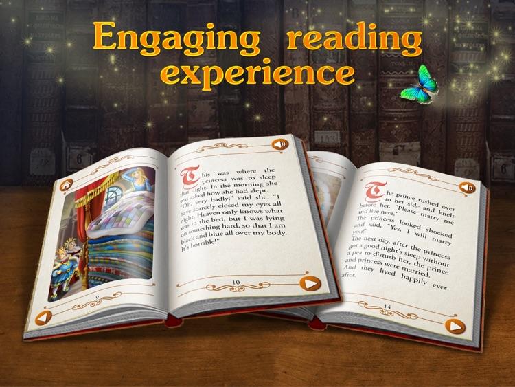 The Princess and the Pea - preschool & kindergarten fairy tales book for kids HD screenshot-3