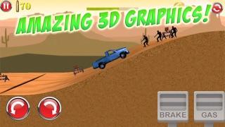 3D殭屍射擊車公路賽車遊戲 - 免費屏幕截圖4