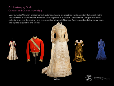 A Century of Style: Costume and Colour 1800-1899 screenshot 1