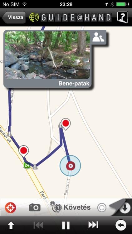 Mátra GUIDE@HAND, Audio and Map screenshot-4
