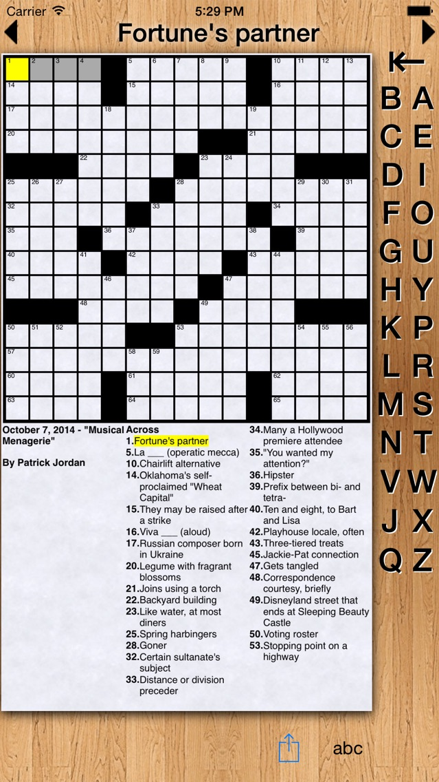 self proclaimed expert crossword - 639×1136