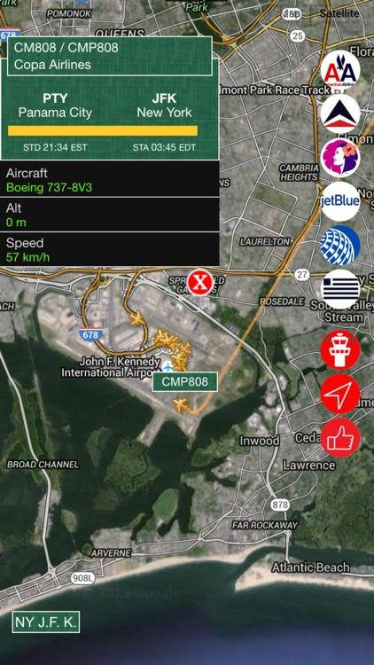 Air USA Pro - Live Flight Tracking & Status for United, American, Alaska, Delta, Hawaiian, Jetblue , US Airlines