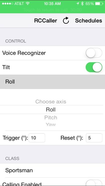RCCaller screenshot-0