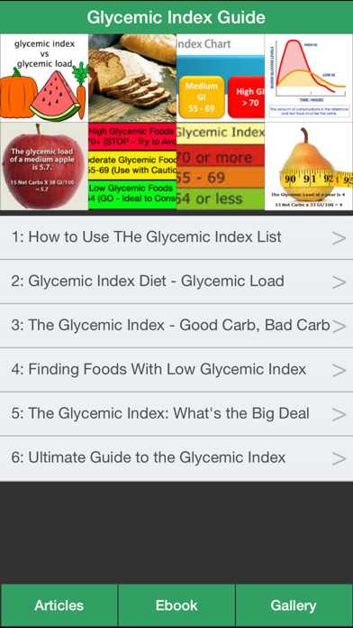Glycemic Index Guide - How To Control Your Glycemic Index Effectivelyのおすすめ画像1