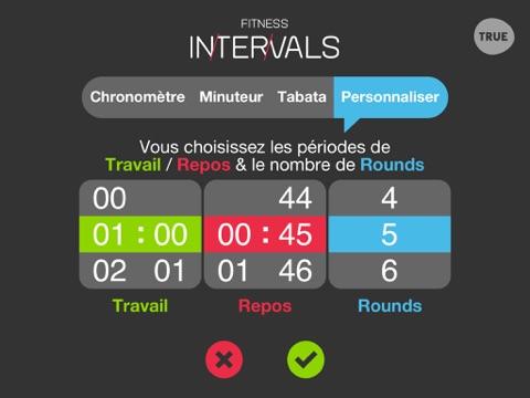 Screenshot #6 pour Fitness Intervals