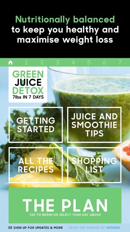 Green Juice Detox: Lose 7lb in 7 days screenshot-4