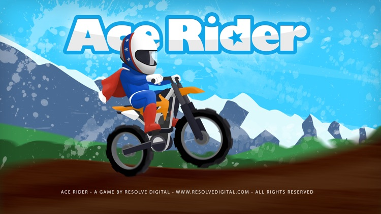 Ace Rider™ - motor bike racing & stunts screenshot-0