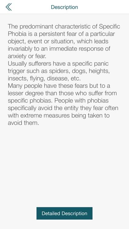 Specific Phobia Test DSM