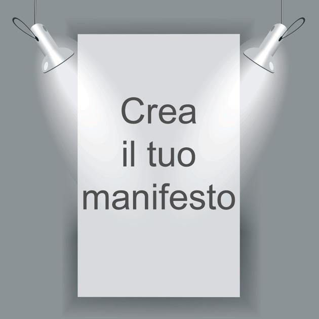 Preferenza Crea Manifesto su App Store CK39