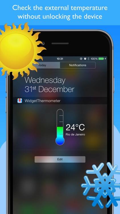 Widget Thermometer