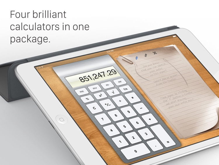 Calculator HD for iPad screenshot-0