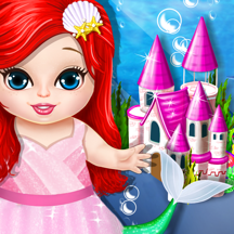 Princess Mermaid Play House
