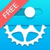 自転車ギヤ計算機フリー - iPhoneアプリ
