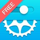 自行车齿轮计算器Free icon