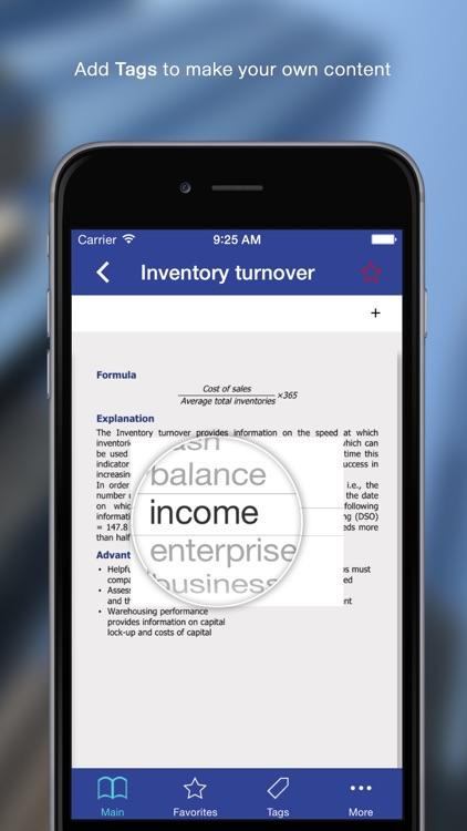 100 Finance Ratios for iPhone screenshot-3