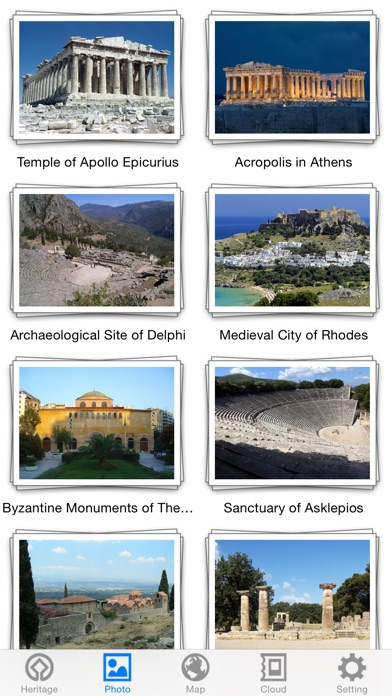 World Heritage in Greece for Windows