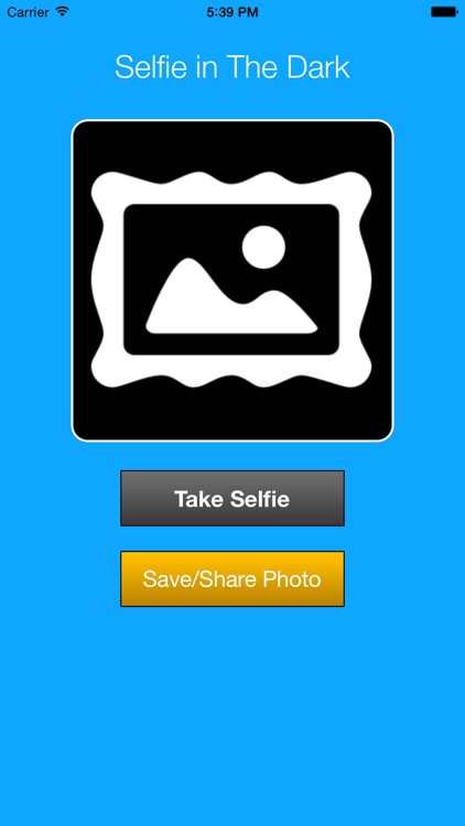 Selfie in The Dark
