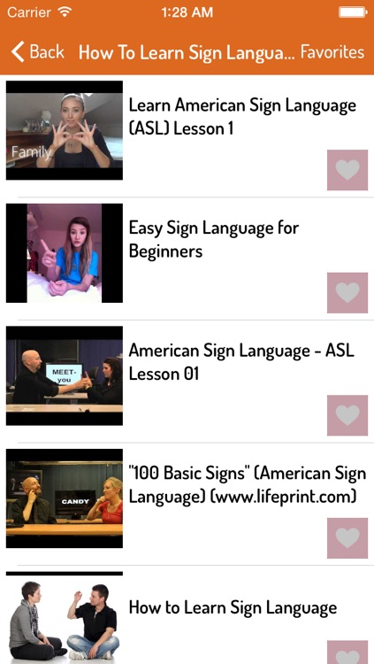 Sign Language Guide