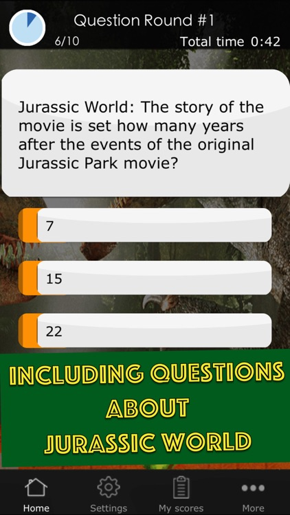 Quiz Game for the Jurassic Park Movies - Including Questions
