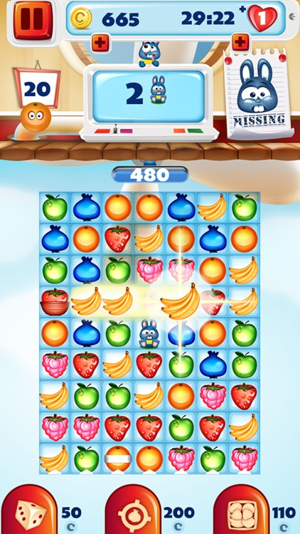 Crazy Fruit Match 3 Game - Infinite Puzzle Adventure and Crush Mania