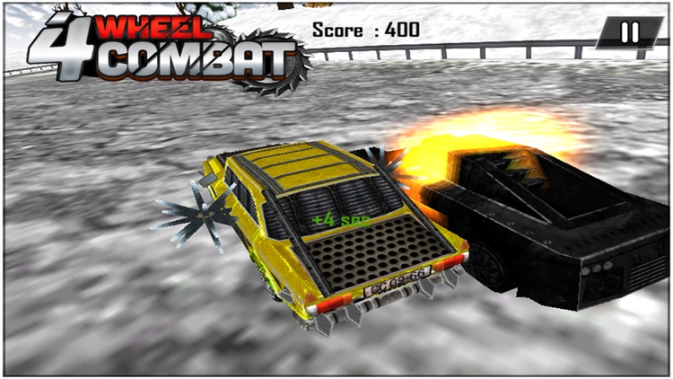 4 Wheel Combat ( 3d Car Racing Action Game ) screenshot-4