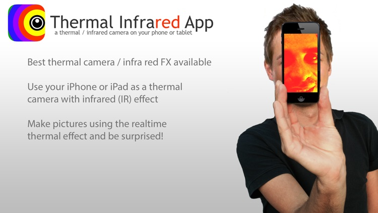 Thermo Infrared IR FX thermal camera