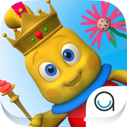 I Am King Story Book with Voice for Toddlers & Kids in Preschool & Kindergarten (Interactive 3D Nursery Rhyme)