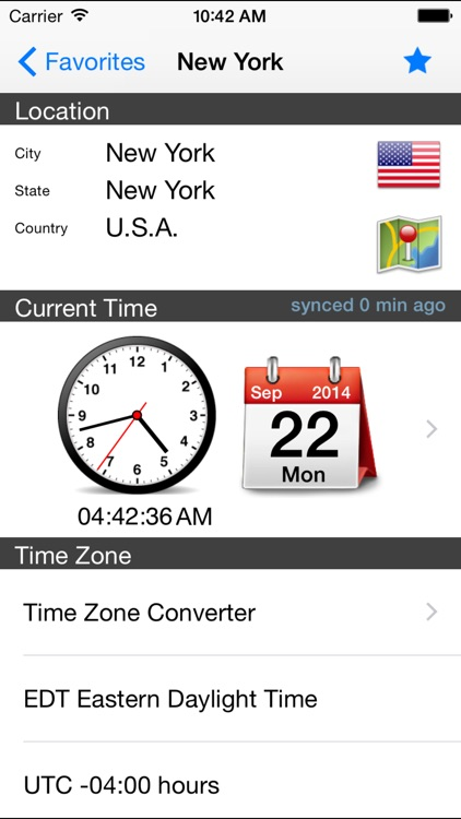 World Clock Gold–Time Zones screenshot-2