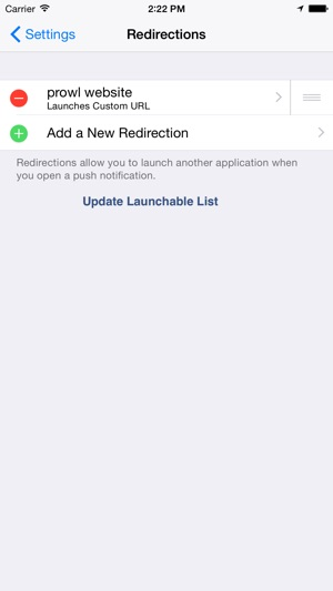 Prowl: Easy Push Notifications
