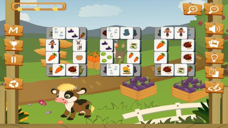 Happy Farm Mahjong screenshot-4