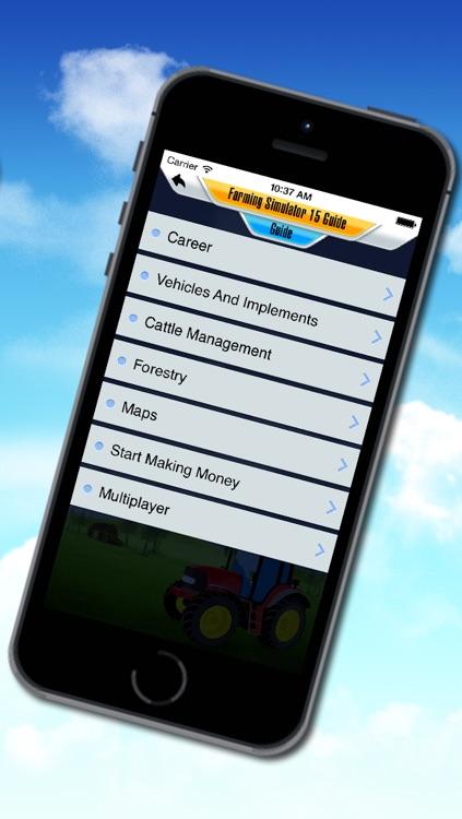 Ultimate Guide For Farming Simulator 15 (Unofficial) screenshot-3