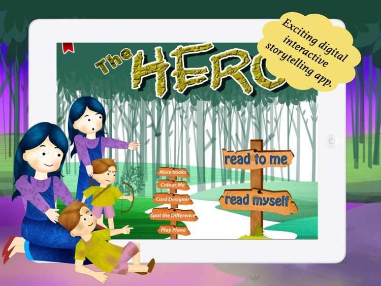 The Hero for Children by Story Time for Kids