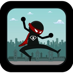 Action Stickman Run: Be a Super Hero