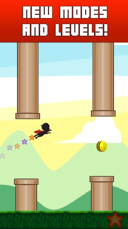 Flying Avatar - Make Any Flappy Superhero Bird Fly screenshot-3