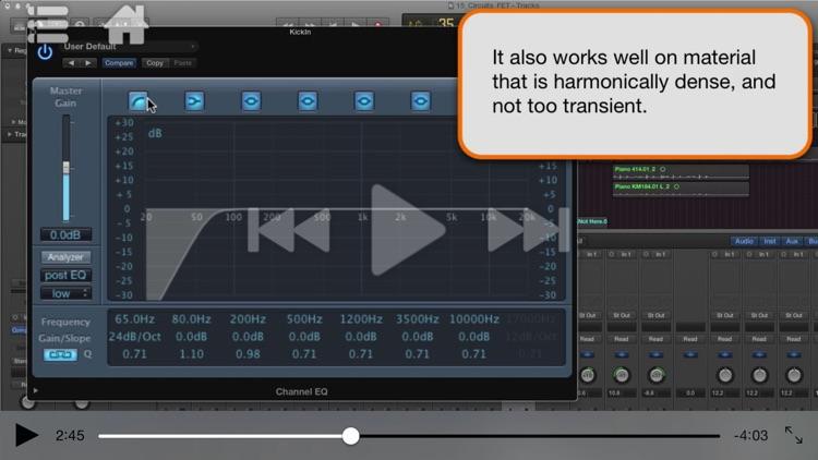 Course for Mixing in Logic Pro X screenshot-4