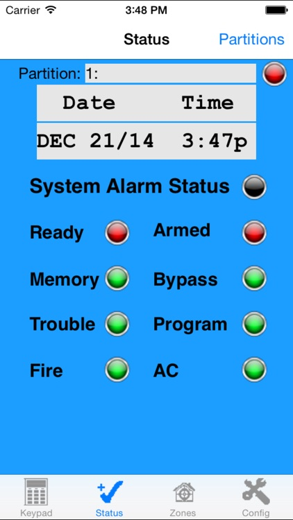 HABIT DSC Alarm Monitor by Home and Business Intelligent